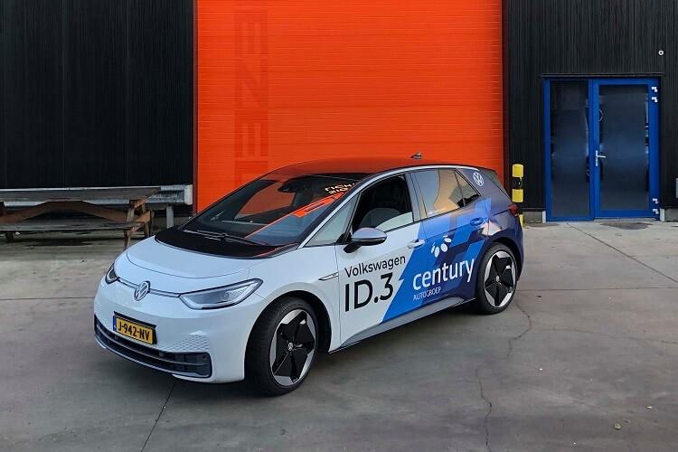 Car wrap Volkswagen