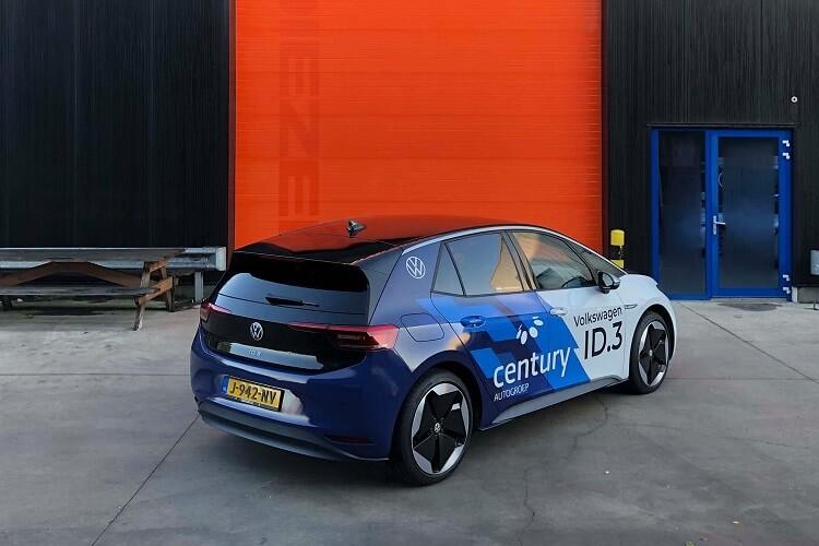 Car wrap Friesland